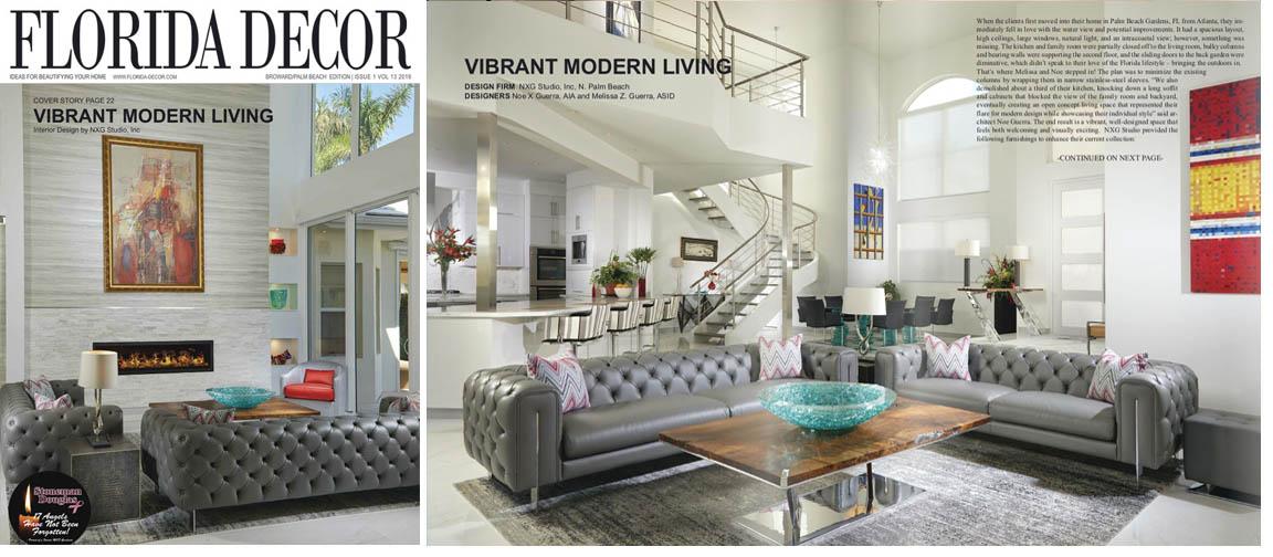Florida Decor Magazine Home Page, Interior Design And