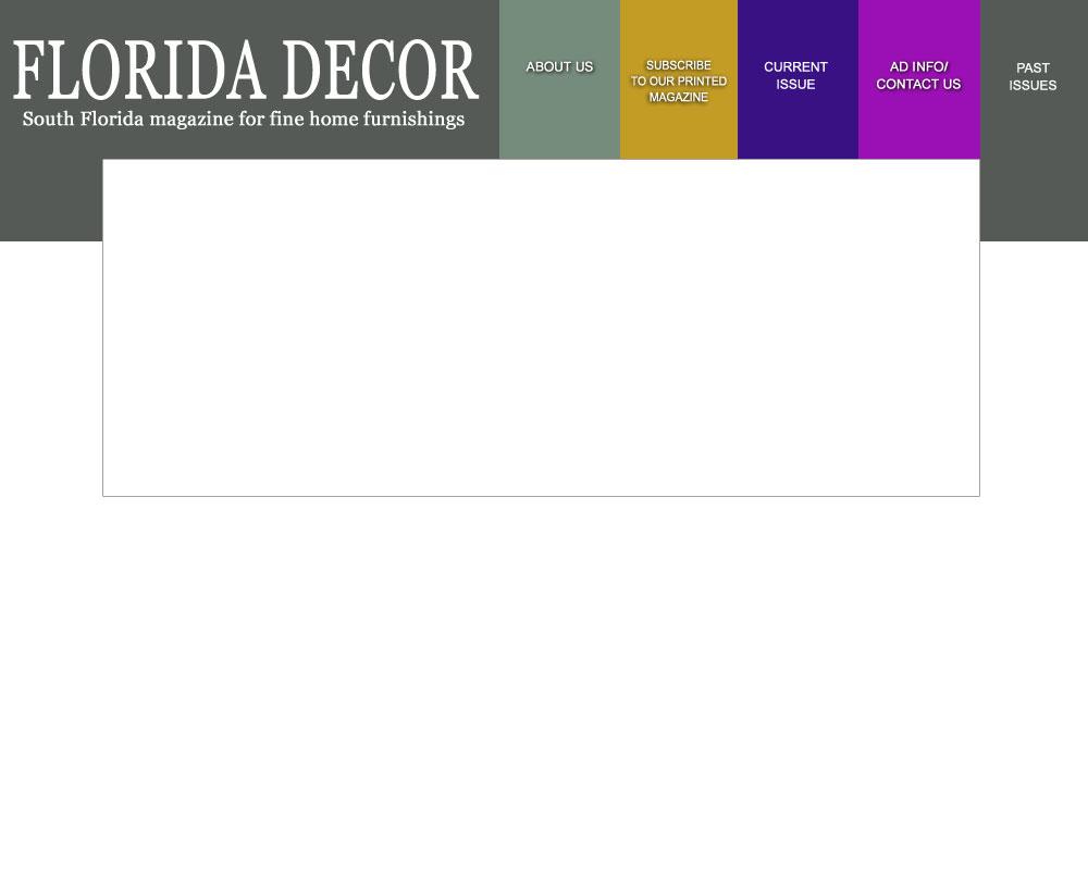 South Florida Home Decorating Magazine for Interior Design ...